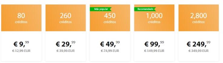 precios en follamigos.com